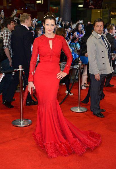 Cobie Smulders Evening Dress - Cobie Smulders Looks - StyleBistro
