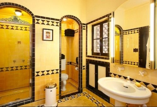 Never Change, Colorful Tile Bathrooms in Old LA Houses - On the Tiles - Curbed LA