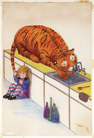 Judith Kerr, The Tiger Who came to Tea