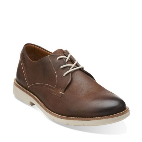 Raspin Plan Walnut Nubuck - Men's Oxfords and Lace Up Shoes - Clarks