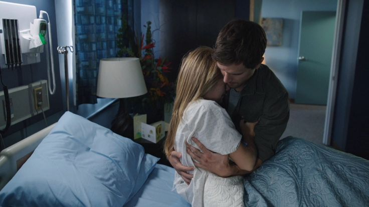 Heartland - Season 7, Episode 10 - Amy's injury / Amy in the hospital - Ty and Amy - Amy is scared