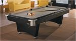Brunswick Black wolf from the contender line of pool tables.