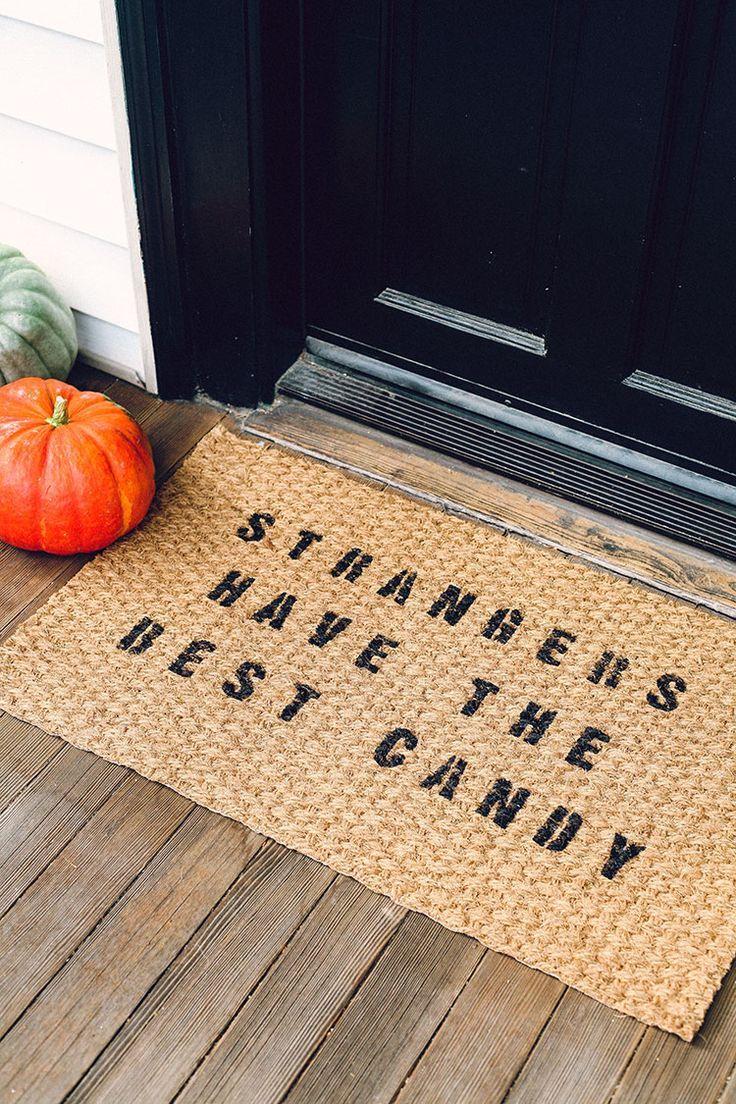 Mejores 59 imgenes de halloween en pinterest otoo brujas y diy halloween themed door mat for less than 10 solutioingenieria Gallery