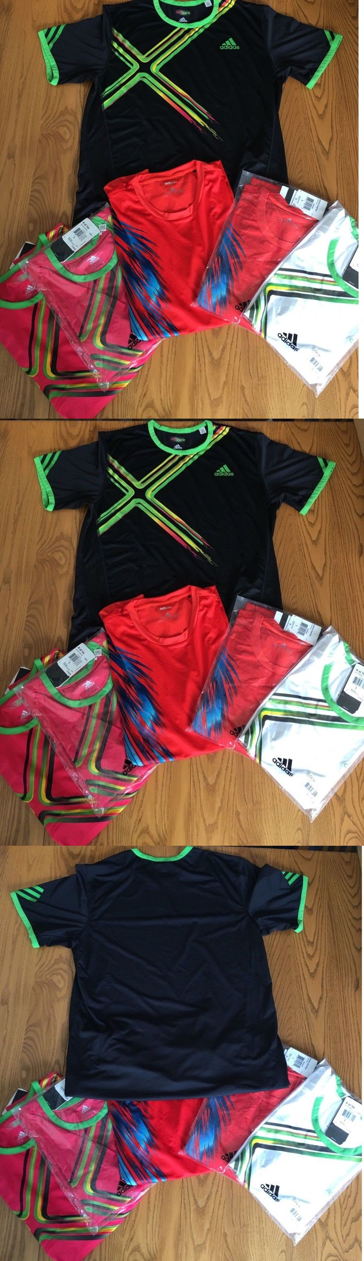 Shirts and Tops 70900: Adidas Adizero (6 Tennis Tops) Men S Shirts -> BUY IT NOW ONLY: $220 on eBay!