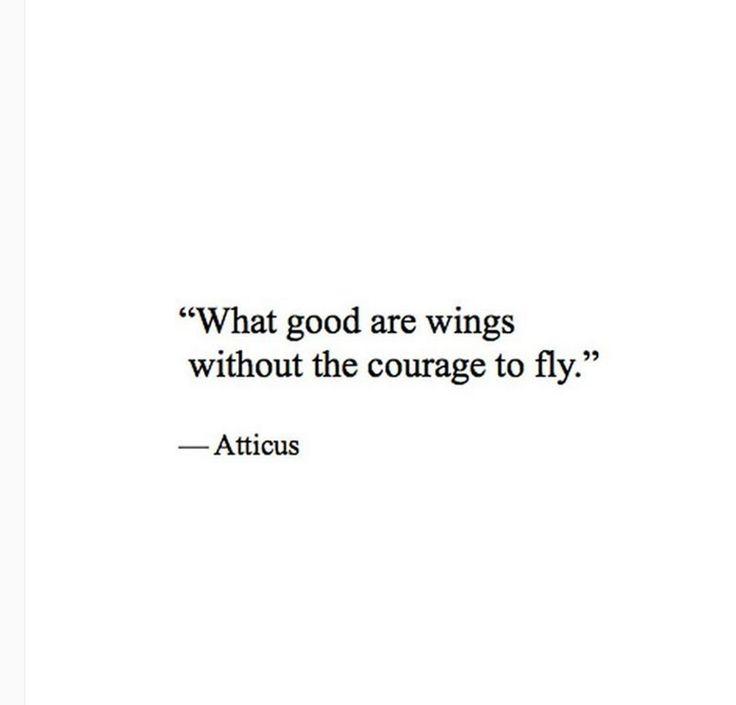 'Courage' @atticuspoetry #atticuspoetry #atticus