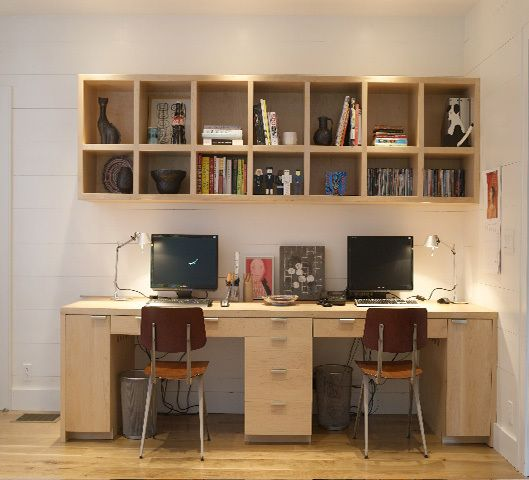 office idea for double desk