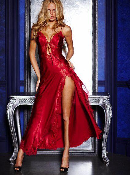 Satin Gown - Very Sexy - Victoria's Secret