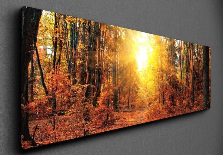 Autumn forest - Canvas