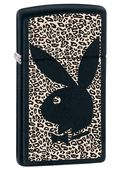Zippo Slim Playboy Black Matte Lighter #elighters #playboy #playboybunny #hughhefner #leopard #playboymansion #bunnies #playmate @Playboy