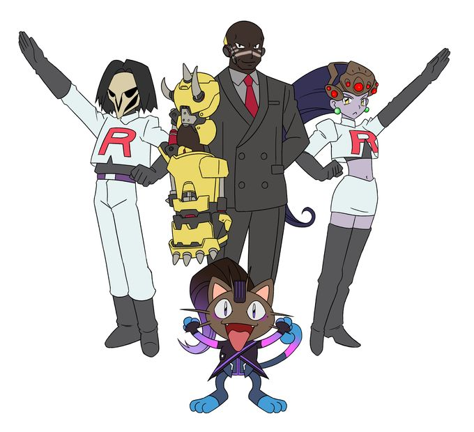 """""""To kick a cripple, and make it triple! To remove the world of Overwatch, because they suck and smell like crotch! You see that we're evil, but why is it so? To extend our reach to the hell below! Amélie! Gabe! Team Talon, a danger you simply cannot deny! Surrender now or prepare to DIE! (Boop! Gracias!)"""""""