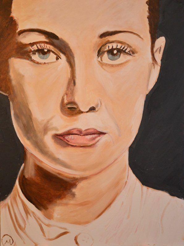 Mariska Sens. Carice. Carice van Houten met haar opvallende, ietwat slaperige ogen. Expressief en modern.