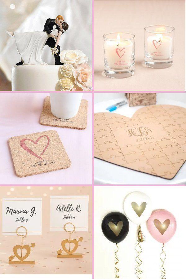 Classic Heart Wedding Theme Elegant Wedding Ideas Heart Themed Wedding Heart Wedding Wedding Guest Book Unique