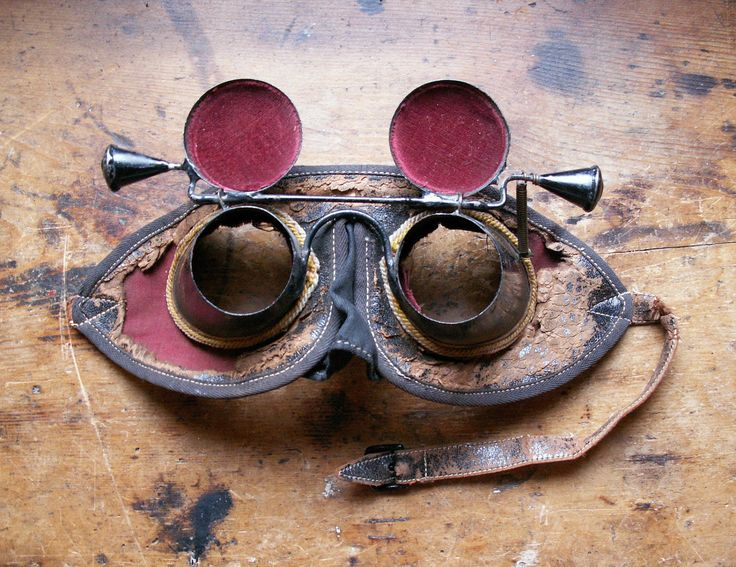 Vintage Masonic Initiation Goggles / Mask / Hoodwink. $225.00, via Etsy.