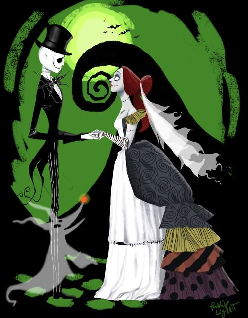 Jack and Sally's wedding day By Phillip Light