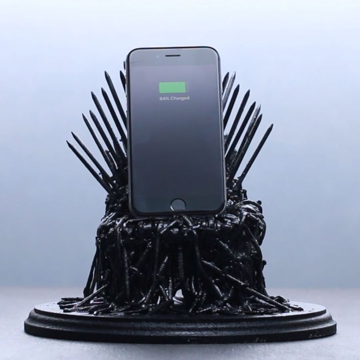 Iron Throne Phone Dock