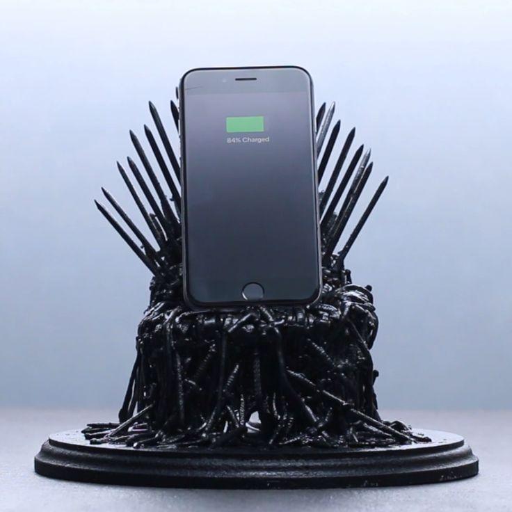 Iron Throne Phone Dock