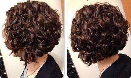 18 Neueste Kurz Bob Curly Frisuren – #Bob #Curly #Frisuren #gestuft #kurz #Neu