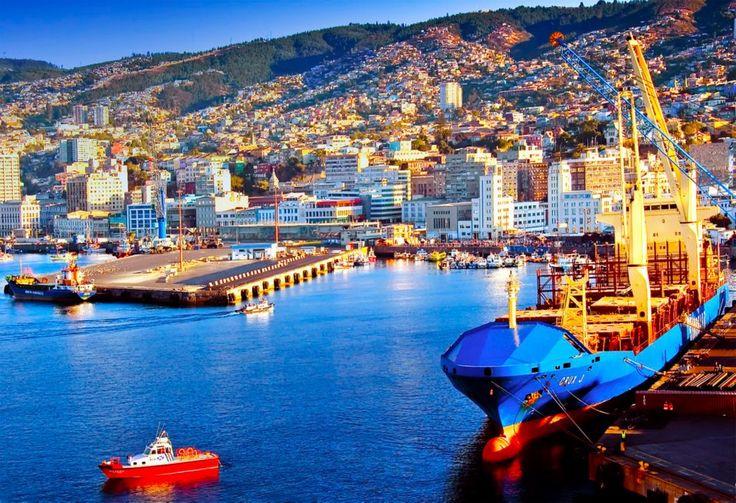Valparaíso Chile, el puerto más lindo del Mundo.