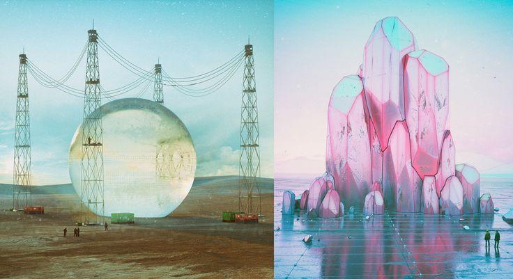 Grafik tasarımcı Mike Winkelmann geçtiğimiz 8 yıl boyunca benzersiz dijital illüstrasyonlar yaptı. Cinema 4D, Octane Renderer, X-Particles, ve Zbrush kullanarak...