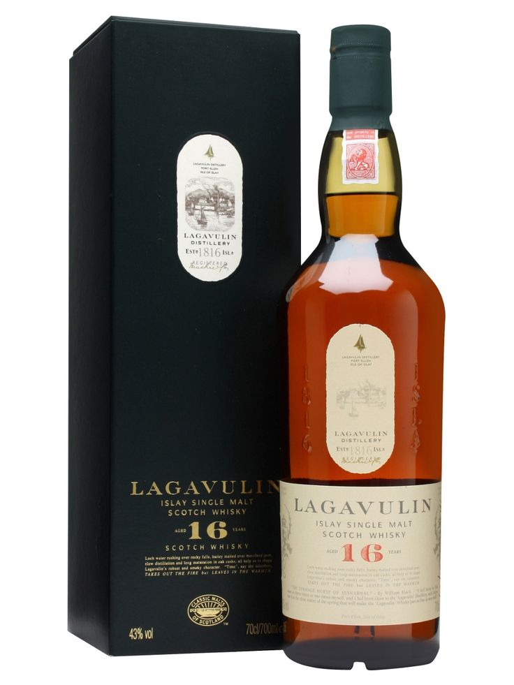 The ultimate smokey dram, and my favorites: Lagavulin 16 Year Old