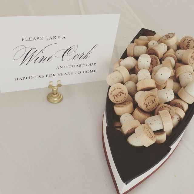 wine cork wedding favors more