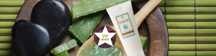 STAR OF THE MONTH: RELAXATION MASSAGE LOTION