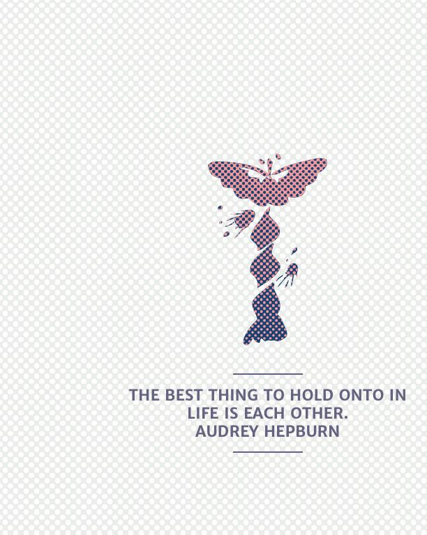 georgieeykel Notegraphy - Each Other - Audrey Hepburn