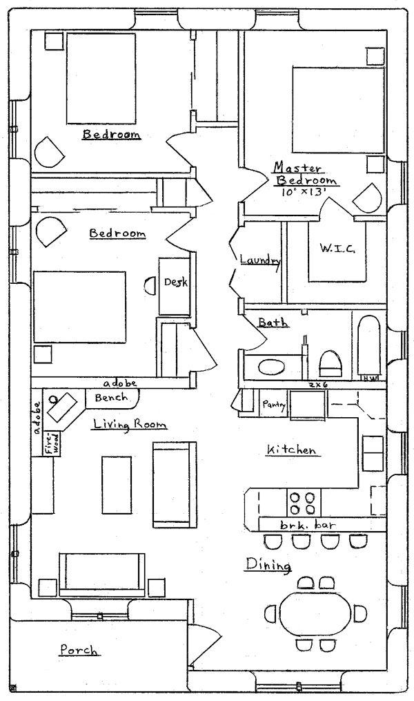 images about Floor Plans on Pinterest   Floor plans  House    Earthbag House Plans   Small  affordable  sustainable earthbag house plans   Page