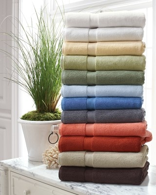 I love the Chambers® Heritage Solid Towels, Sale on Williams-Sonoma.com