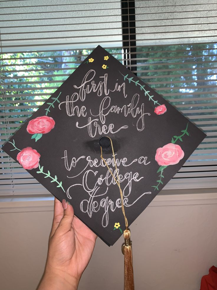 First Generation Graduation Cap