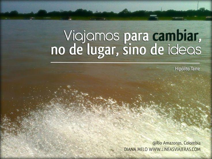 Viajamos para cambiar, no de lugar, sino de ideas. #viajes #viajar http://www.guias.travel