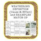 In this activity, students look at the causes and effects of 6 forms of weathering on rocks. They cut out and match-up the definition-causes and ef...