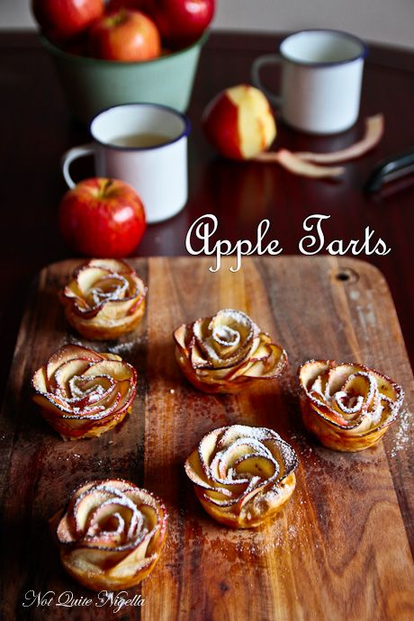 The Most Magical Apple Flower Tarts & Cook With Me!