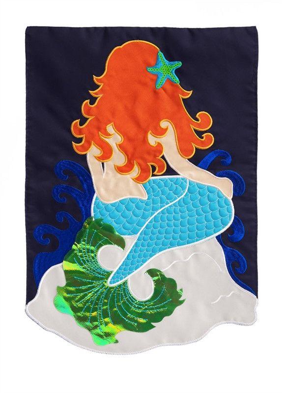 Garden Size - Mermaid Applique