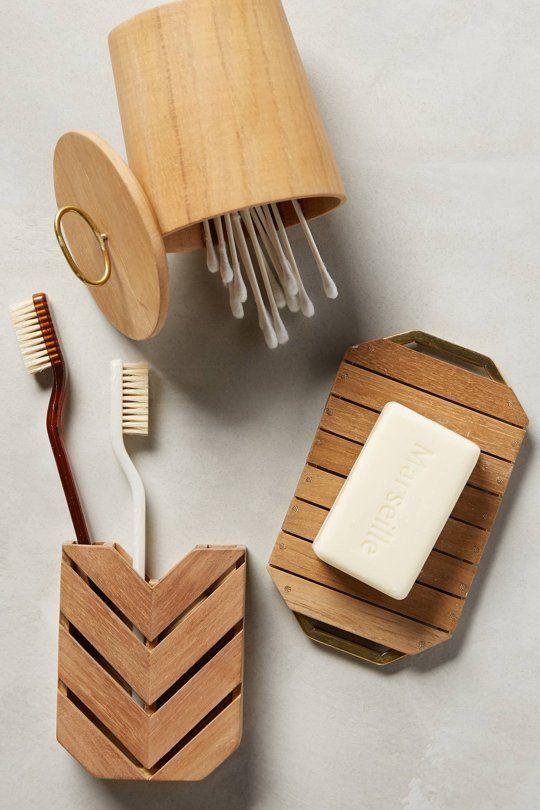 Attractive Under $20: Splurge On A Cheap Thrill For Spring. Teak BathroomVanity  BathroomBathroom IdeasBathroom OrganizationBath AccessoriesWooden ...