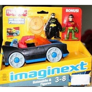 BEST BUY!! Fisher-Price Imaginext Super Friends Batman and Robin CHEAP