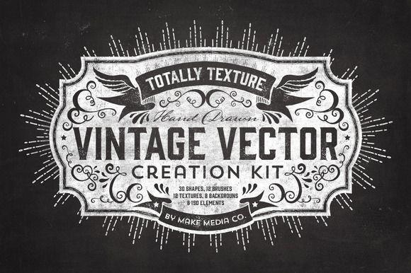 Totally Texture Vector Creation Kit by MakeMediaCo. on Creative Market