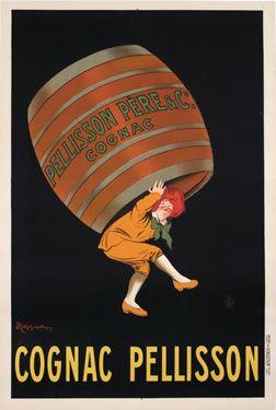 Leonetto Cappiello poster: Cognac Pellisson (small)