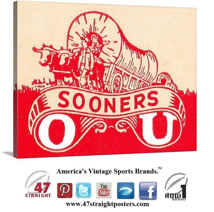 #Vintage #OU #Sooners http://www.shop.47straightposters.com/Vintage-OU-Sooners-canvas-art-Oklahoma-Sooners-gift-ideas-55-OU.htm