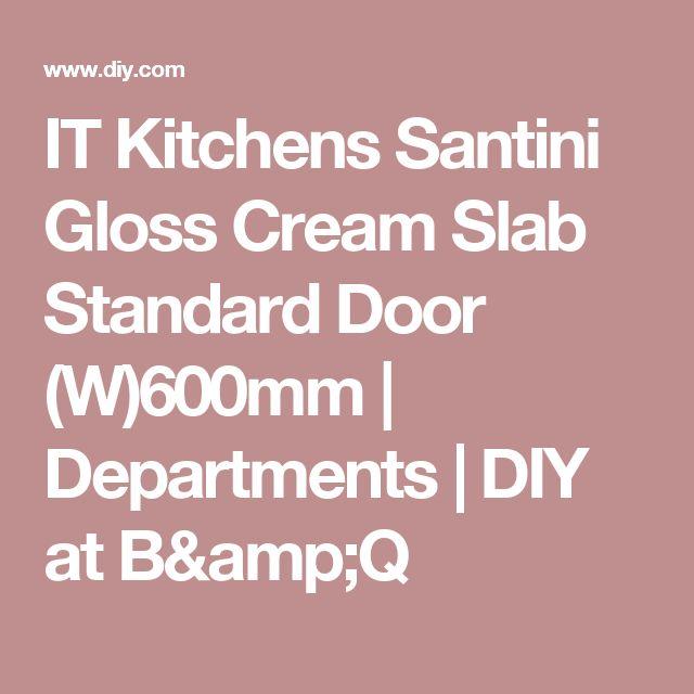 1000+ Ideas About Cream Gloss Kitchen On Pinterest