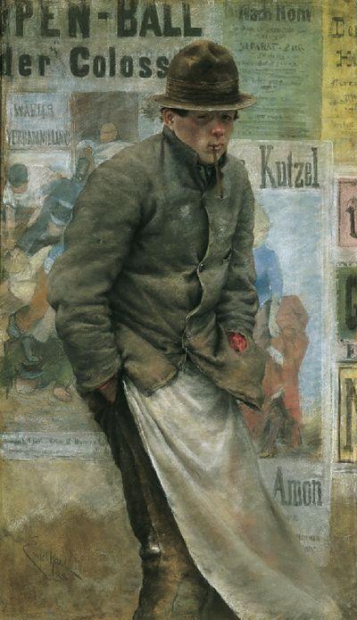 Josef Engelhart (1864-1941) Pülcher (1888) Musée du Belvedere, Vienne