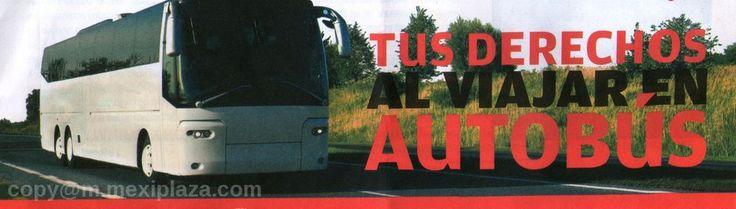 Tus derechos al viajar en autobús  Al tomar el autobús para un viaje de trabajo o vacaciones, tú tienes derechos que las compañías de autotransporte deben respetar. Conoce cuáles son para que los hagas valer.  TARIFAS Y HORARIOS Los precios y horarios de las principales corridas y categorías deben exhibirse a la vista de las y los consumidor/a con caracteres legibles. Las tarifas de las corridas especiales tienen que estar disponibles al público.