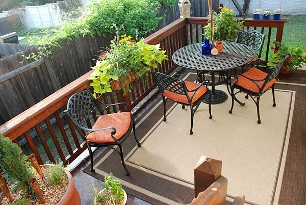Ideas For A Small Balcony: Deck Decorating Ideas Cheap And Its Creative Idea: Deck