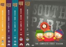 South Park: The Complete Seasons 1-5 [15 Discs] [DVD]