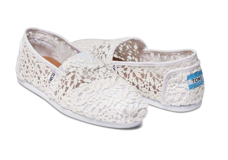 Featuring a lovely lace upper and more cushioning than ever, these slip-ons are a warm-weather favorite.