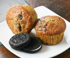 Muffins au oreo