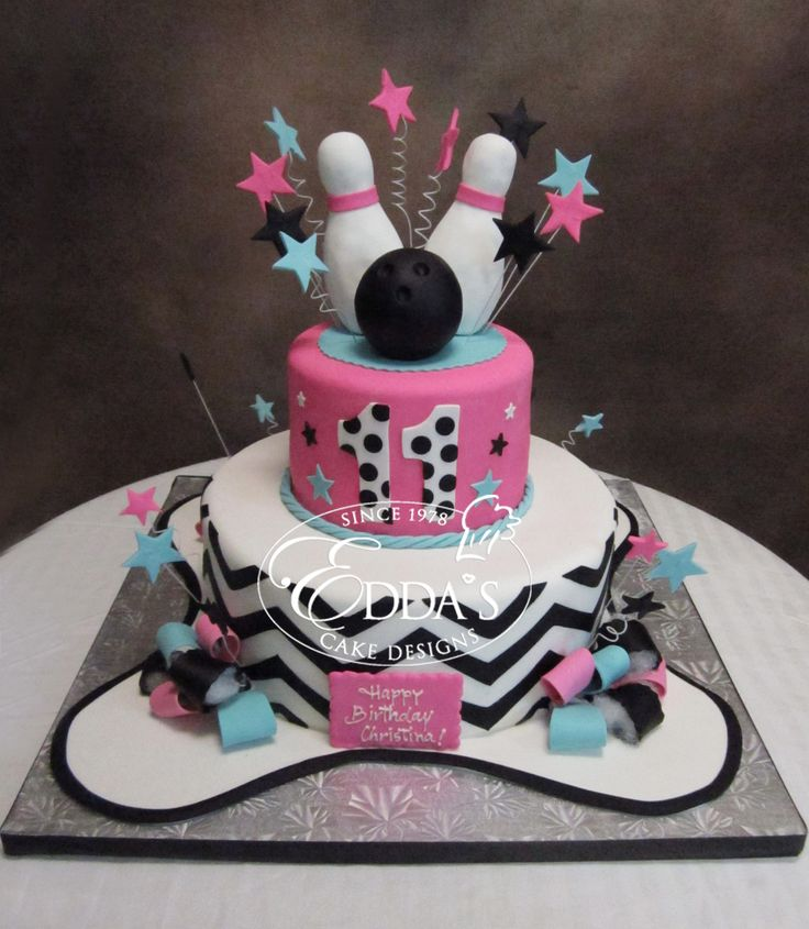 25+ Best Ideas About Bowling Birthday Cakes On Pinterest