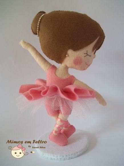 Felt Ballerina