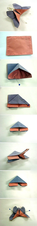 Diy Fabric Butterfly | DIY & Crafts Tutorials