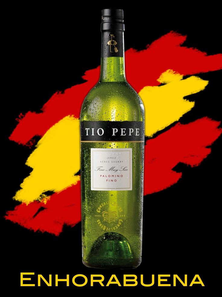 Enhorabuena de Tio Pepe por el Mundial.